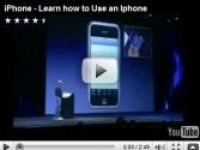 How to Use iPhone Learning Video